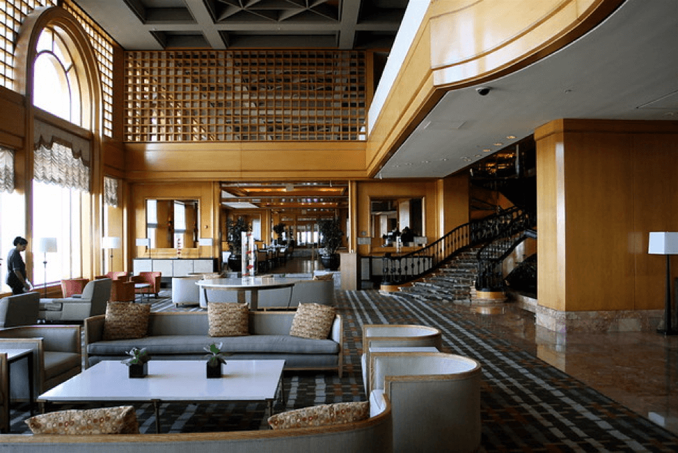 Lobby of Westin Canal Place New Orleans