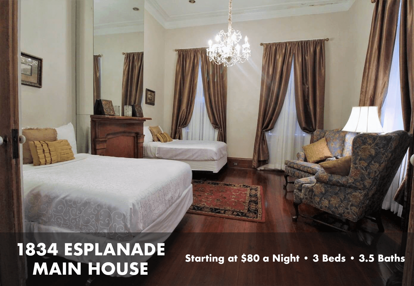 1834 Esplanade Main House - Luxury Rental in New Orleans