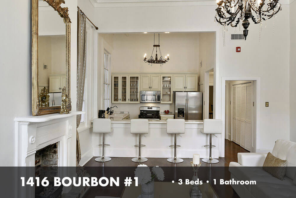 Bourbon 1, Hospitality of New Orleans, a luxury New Orleans rental