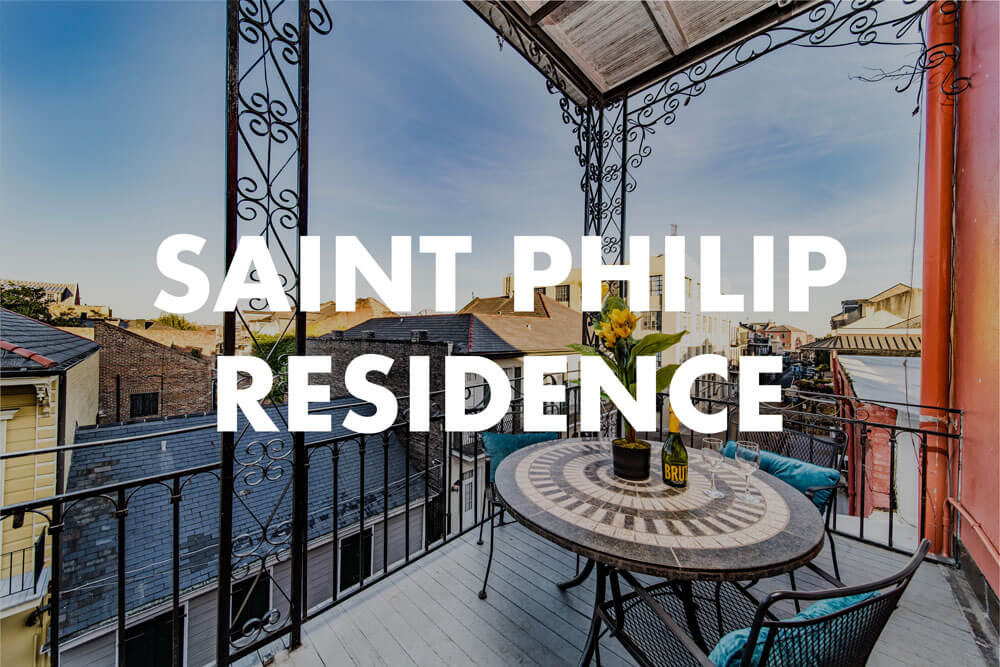 saint philip residence, a luxury rental in the French Quarter of New Orleans